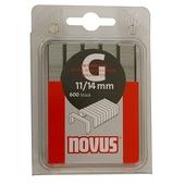 Novus nieten vlakdraad G11 14 mm 600 stuks
