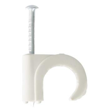 HANDSON kabelclip rond grijs 11-15mm (15 stuks)