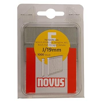 Novus nagels SB EJ 19 mm 1000 stuks