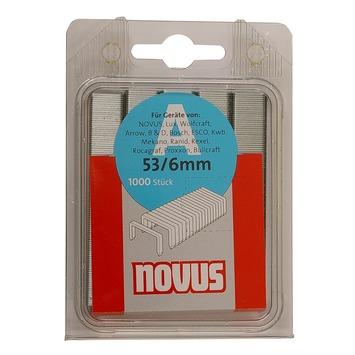 Novus nieten dundraad A53 6 mm 1000 stuks