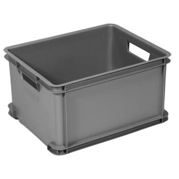 Curver unibox 30L classic zilver
