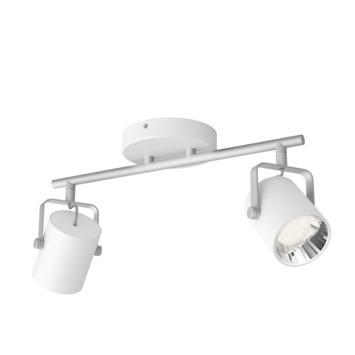 Philips opbouwspot Byre wit 2-lichts