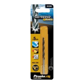 Piranha HI-TECH bullet metaalboor 5 mm X51058