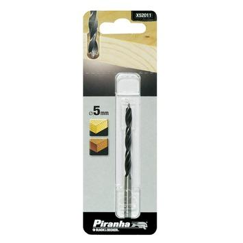 Piranha houtspiraalboor 5 mm X52011