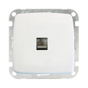 GAMMA K2 Stopcontact Telefonie Wit