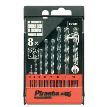 Piranha steenborencassette 8 stuks X56040