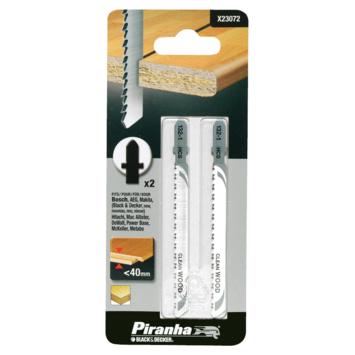 Piranha decoupeerzaagblad voor laminaat T-aansluiting 40 mm X23072