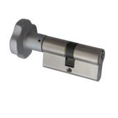 Nemef knopcilinder nikkel 30/30 mm
