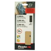 Piranha schuurstrook 93x230 mm 10 stuks X31115