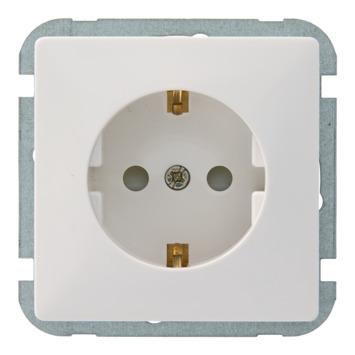 GAMMA Everest Voordeelpack 3x Stopcontact en 3x Schakelaar Wit