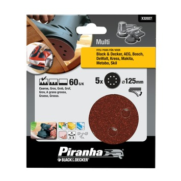 Piranha schuurschijf K60 125 mm X32027