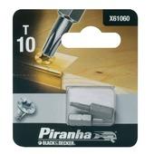 Piranha bit torx 10 25 mm 2 stuks X61060