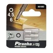 Piranha bitset inbus 25 mm 3 stuks X61083