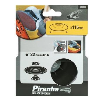 Piranha steunschijf nylon voor haakse slijper M14 115x22 mm X32105