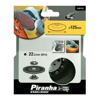 Piranha steunschijf nylon- voor haakse slijper M14 225x22 mm X32110