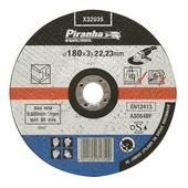 Piranha doorslijpschijf metaal 3,2x180 mm X32035