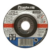 Piranha afbraamschijf metaal 6x115 mm X32050