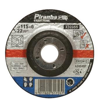 Piranha afbraamschijf metaal 6x125 mm X32055
