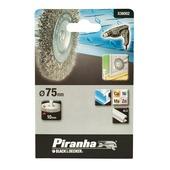 Piranha staaldraadborstel fijn 75 mm X36002