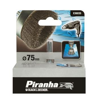 Piranha komstaaldraadborstel 75 mm X36035