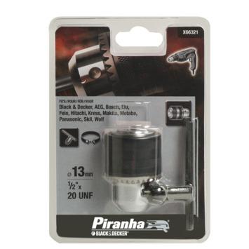 Piranha boorkop opname 1/2 inchX20mm X66321