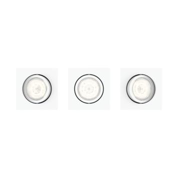 Philips Casement LED inbouwspot 3X4.5W wit