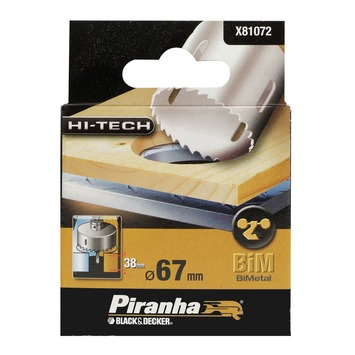 Piranha HI-TECH gatenzaag bimetaal 67 mm X81072