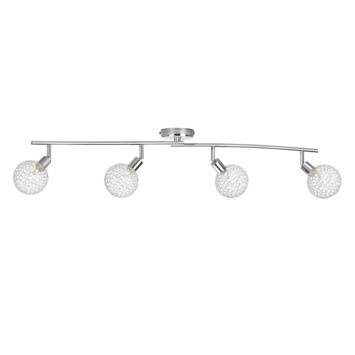Philips Opbouwspot MyLiving Net LED Chroom 4 x 28W