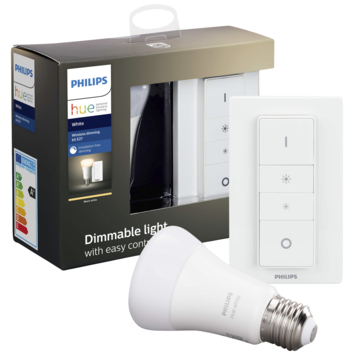 Philips Hue White dimbaar kit 9w e27