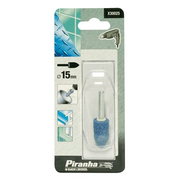 Piranha slijpsteen eivormig X30025 15 mm X30025