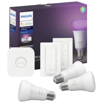Philips Hue e27 9w white & color 3set