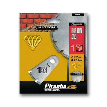 Piranha HI-TECH diamantblad gesegmenteerde rand 125 mm X38107