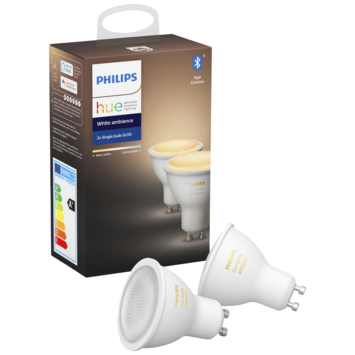 Philips Hue 5w gu10 wit ambiance