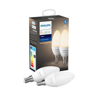 Philips Hue 5.5w e14 2pack wit