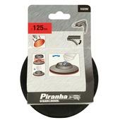 Piranha Velcro steunschijf boormachines 125 mm kantelbaar X32292