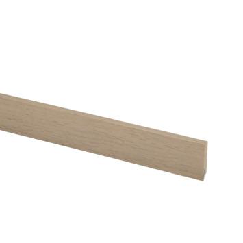 Hoge plint nr 922 12x60mm 240cm PVC naturel eiken Volera