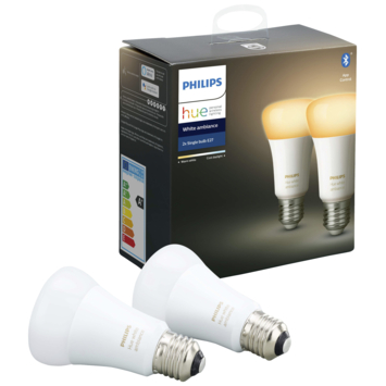 Philips Hue e27 8.5w white ambiance 2pack