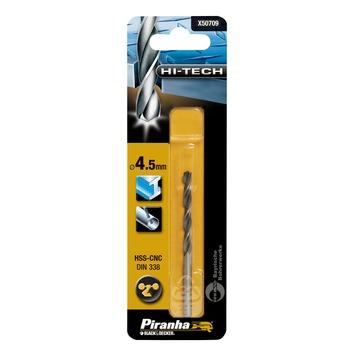 Piranha HI-TECH metaalboor 4,5 mm X50709