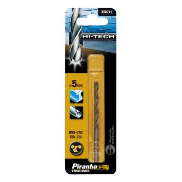 Piranha HI-TECH metaalboor 5 mm X50711