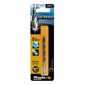 Piranha HI-TECH metaalboor 5,5 mm X50714