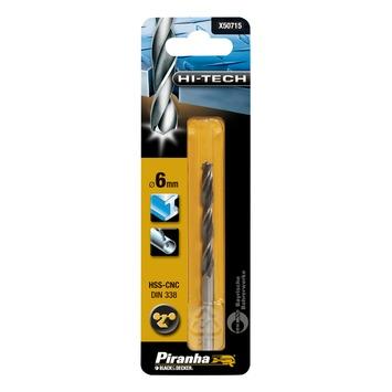 Piranha HI-TECH metaalboor 6 mm X50715