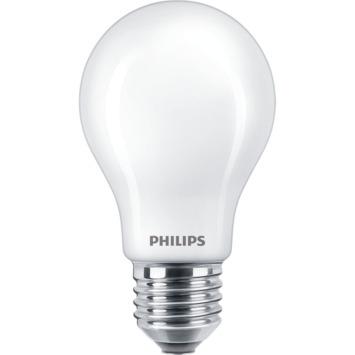 Philips LED classic peerlamp E27 8,5 W = 75 W warm wit mat