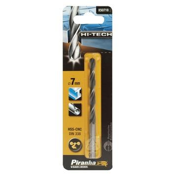 Piranha HI-TECH metaalboor 7 mm X50718