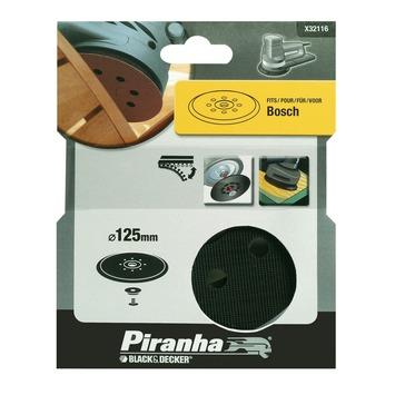 Piranha steunschijf excentrische schuurmachine 125 mm X32116