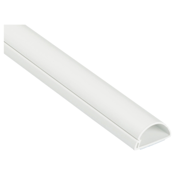 D-line kabelgoot half rond wit 1 meter