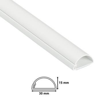 D-line kabelgoot wit 30/15 mm 2 meter