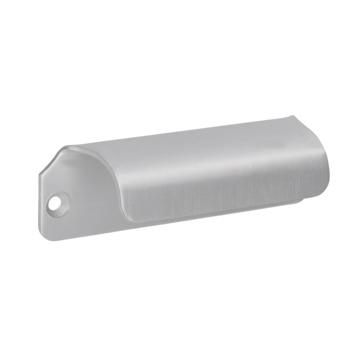 Greep Douwe aluminium 90mm