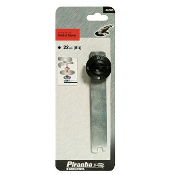 Piranha spantang en flens voor kleine haakse slijper X37065