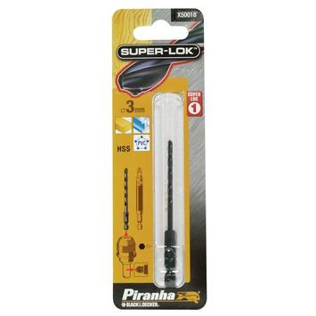 Piranha SUPER-LOK metaalboor 3 mm X50018