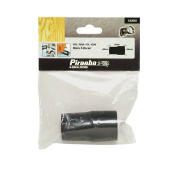 Piranha stofzuiger adapter X43010